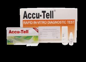 Accu-Tell COVID-19 IgG/IgM Rapid Test Accu test